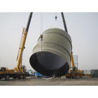 电厂玻璃钢烟囱内筒的应用特点制造生产厂家技术设计参数规范