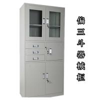 文件柜档案柜器械柜偏三斗文件柜福州铁皮柜生产厂家