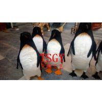 仿真企鹅 商场滑雪场装饰摆件 造景道具 批发