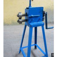 扬州扬威机械厂家订做白铁皮保温铁皮手动压边机 起线机 保温卷圆机 卷板机18531615102