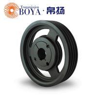 伺服电机皮带轮spb800-4采购选无锡帛扬锥套皮带轮厂家