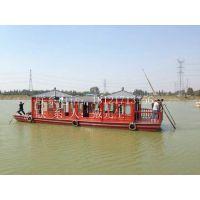 大型餐饮船 水上餐厅 餐饮游船 服务类船