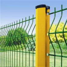 厂区防护围栏 桃型柱Y型机场围网 高强度圈地网