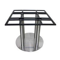 【红泰阳】大量供应不锈钢包铁板 不锈钢加大4柱餐桌脚 欢迎订购