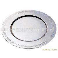 厂家直销 供应不锈钢展示盘 餐具./温沙席面碟 不锈钢制品餐具