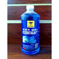 象过河玻璃水低泡安全环保-25°C玻璃水车用玻璃水12瓶装厂家批发