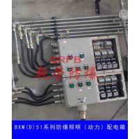 乾荣防爆电控箱厂家BXM(D)53系列防爆照明(动力)配电箱(IIB、IIC、DIP)