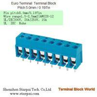 端子 DG301-5.08 蓝色欧式PCB插件 间距5.08mm 可以拼接