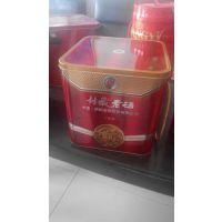 供应优质四瓶装白酒铁盒马口铁材质