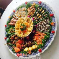 景德镇青花陶瓷蒸鱼盘 和艺海鲜大瓷盘子 酒店1米80厘米60装拼盘