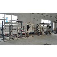 合鑫1000L/H二级反渗透+软化水设备+EDI设备安装调试完成