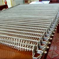 乾德机械 螺旋网带速冻机食品网链304不锈钢 网链生产厂家