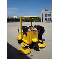 山东物业扫马路扫树叶用艾隆AL1850电动驾驶式扫地机