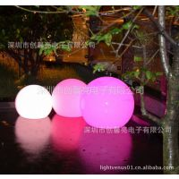 供应优质滚塑LED发光球 发光球 景观灯饰 太阳能草坪灯 滚塑灯具