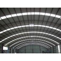 北京福鑫腾达钢构承揽弧形屋架安装