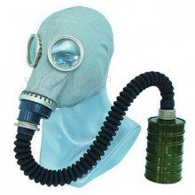 供应头套式防毒面具,鬼脸式防毒面具