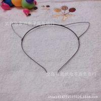 3毫米宽动物猫耳朵头箍、卡通发箍 韩版DIY头饰配件 厂家直销