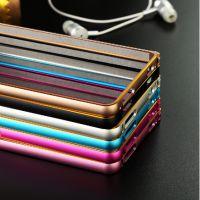 厂家批发新款小米红米2手机壳红米2外壳圆弧双色金边金属边框