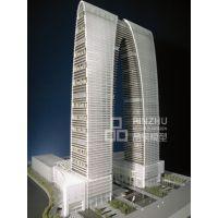 深圳品筑模型设计-苏州之门-以阴刻形式勾勒轮廓,给人留下想象空间。