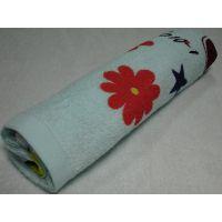 厂家直销纯棉吸水柔软多色印花毛巾