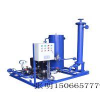 聊城卓智 生产 浮动盘管式换热器 整体式换热机组 厂家