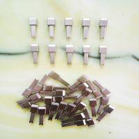 供应电源适配器弹片,接触导电五金,充电器五金配件 铜针 宏亮
