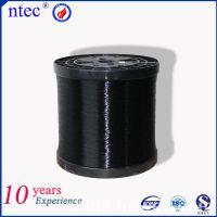 江苏供应0.3mm黑色高性能导电单丝锦纶6-FDY
