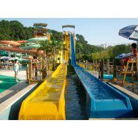 广州蓝潮水上乐园设备大型高速组合滑梯设备厂家直销