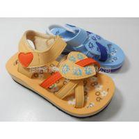 供应外贸尾单沙滩童凉鞋,厂家直销