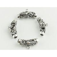 DIY999银花托配件加工生产批发 珠宝首饰来图来样加工定制工厂