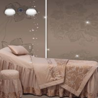 诺美丝 美容床罩纯棉全棉高档美容院床罩床套 东方公主A107