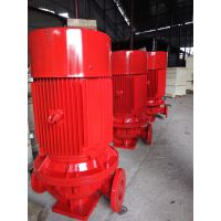 泉柴供应天井45kw消防喷淋泵XBD15.7/15-80DLL*4管道消防泵 加压泵