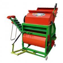 花生果分离机 专产摘果机 富兴牌自动装袋花生秧果分离机