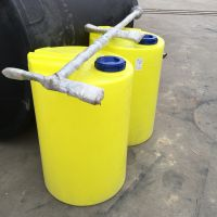 淮安MC-300L塑料搅拌加药桶 直径720mm配搅拌机的药桶