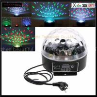 IR Control Bluetooth And USB Led Crystal Magic Ball Stage Light For House And Home Party