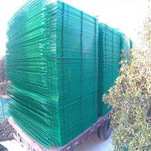 学校护栏网厂家 铁路封闭网 车间围栏