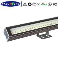 厂家直销 户外led灯具 55×70×1000MM 线条灯高亮化36w洗墙灯
