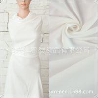 人棉染色 双面斜纹 绵绸布料 夏季 梭织人造棉 服装用布 viscose