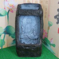 风水轮流水喷泉释迦摩尼佛像创意摆件工艺礼品家居饰品水景加湿器