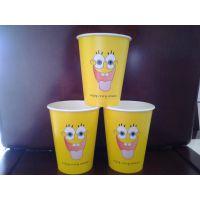 武汉14盎司双淋膜奶茶纸杯咖啡纸杯