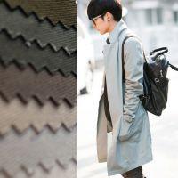 【伟兴行】全棉斜纹磨毛128×60磨毛纱卡全工艺高档服饰休闲面料