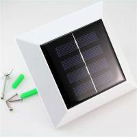 超亮太阳能灯方形水槽灯篱笆灯太阳能栅栏灯户外家用庭院太阳能灯
