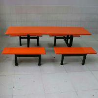 百色专业玻璃钢餐桌椅生产厂家 8人中分条凳餐桌椅价格 方通铁管支架食堂餐桌椅 早餐店桌椅多少钱 餐馆