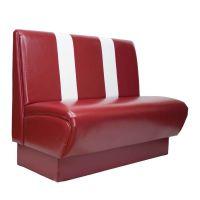 众美德01欧式沙发定制,皮制卡座定制,餐厅沙发批发