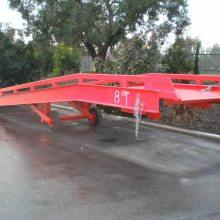 鑫力物流装卸设备厂家定做两节分体式装卸平台 移动式登车桥