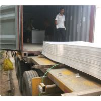 山东厂家直供环保pvc灰色硬板 密度1.85 价格优惠 重复利用率高
