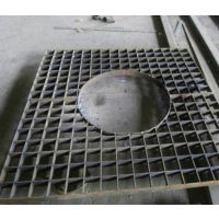 市政建设用树池盖板 简易安装镀锌树池盖板 超峰钢格板制作