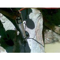 人工挖基桩遇岩石,高效、安全、无声施工机械--岩石分裂机