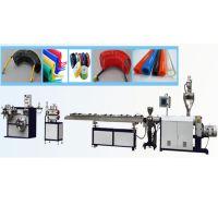 PU(聚氨酯)精密气动管挤出生产线 压缩空气管机器 塑料软管挤机