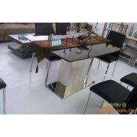 米乐不锈钢简约现代时尚餐桌CZ1